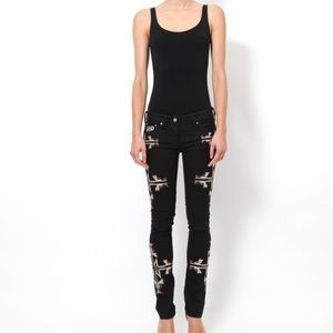 Isabel Marant Embroidered Jeans